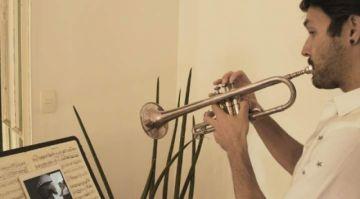 Sociedad de Música de Cámara ofrece conciertos a pacientes de COVID-19