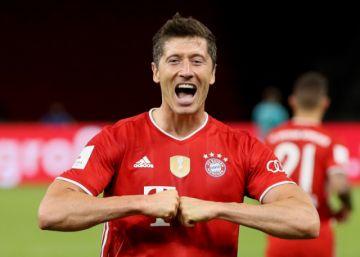 Lewandowski encara semifinales como gran goleador de la Champions