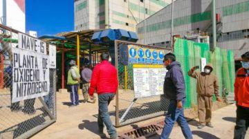 Tras inspección ven la factibilidad de producir oxígeno medicinal en Karachipampa