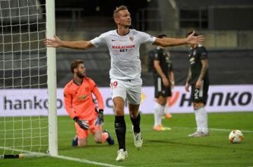 """El Sevilla remonta al United y jugará otra final de """"su"""" Europa League"""