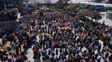 Campesinos de La Paz suspenden el bloqueo de caminos
