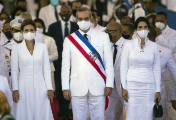 Abinader jura como nuevo presidente de República Dominicana