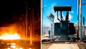 ENDE denuncia daño material y económico por atentado a subestación en Oruro