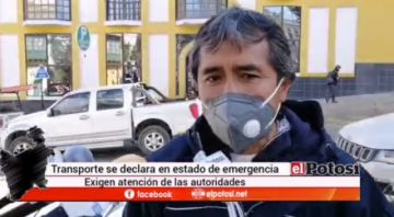 Transporte potosino se declara en emergencia ante crisis económica