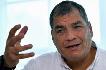 Rafael Correa se lanza a la vicepresidencia de Ecuador