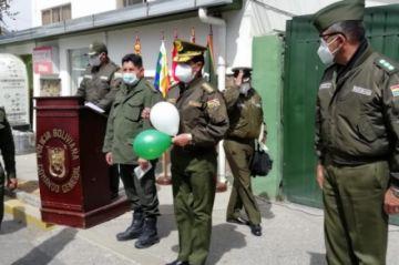 Comandante General de la Policía venció al coronavirus y es dado de alta