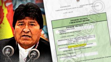 Revelan más pruebas de supuesta relación amorosa de Evo Morales