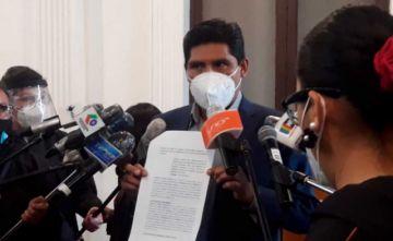 Un diputado del MAS denuncia a Revilla y López por la escasez de oxígeno en La Paz