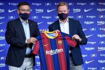 Koeman es el nuevo entrenador del FC Barcelona