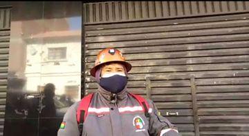 Mineros de Andacaba inician vigilia demanda de pago de salarios