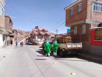 Las brigadas de salud continúan con el rastrillaje en la ciudad