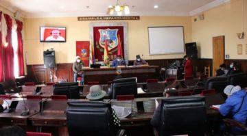 Asamblea Legislativa de Oruro aprueba uso de dióxido de cloro contra la COVID-19