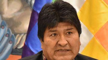 """Gobierno presenta denuncia penal contra Evo Morales por """"estupro"""" y """"abuso sexual"""""""
