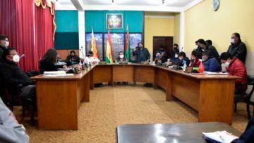 El Alto: Concejo Municipal aprueba Bono Estudiantil contra el coronavirus