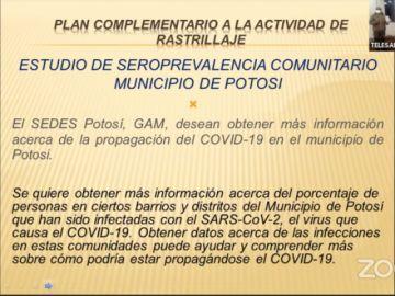 Sepa cómo será la segunda fase del rastrillaje en Potosí