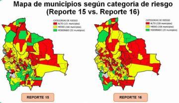 Índice de riesgo: Sube a 158 la cantidad de municipios en Riesgo Alto de coronavirus