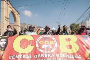 Un grupo de afiliados a la COB impulsa una asamblea para cambiar dirigentes