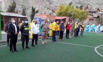 La Paz: Autoridades piden a la población abrir sus puertas  al megarastrillaje