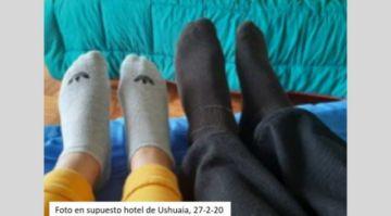 Surgen más fotos de Noemí y Evo Morales, al parecer en una habitación de hotel