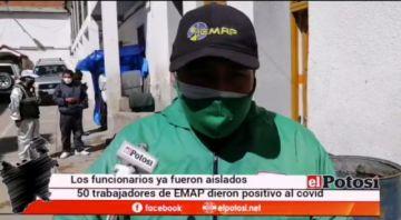 Cerca de 50 trabajadores de EMAP dan positivo a coronavirus