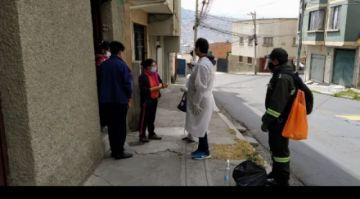Rastrillaje La Paz: En 7.177 hogares ubican a 381 personas con coronavirus