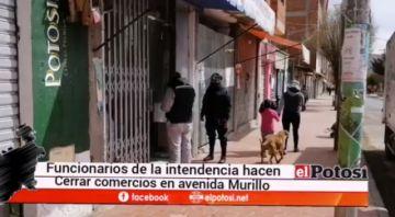 La Intendencia Municipal cierra tiendas abiertas en cuarentena