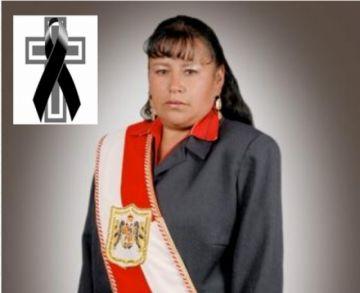 Concejo declara tres días de duelo por deceso de Virginia Vela