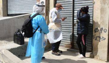 La Paz: Detectaron 1.193 casos de coronavirus en dos días de 'megarrastrillaje'