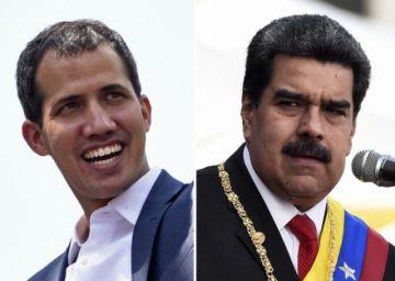 """Maduro dice que no le """"temblará"""" el pulso para arrestar a líder opositor Guaidó"""
