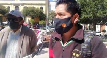 Vecinos conminan al alcalde a cancelar canasta familiar de 500 Bolivianos