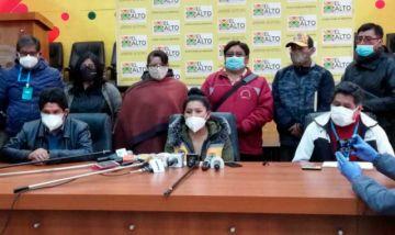 El Alto confirma pago de bono PMADI y anuncia entrega de canastas estudiantiles
