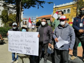 Comcipo demanda la renuncia del alcalde de Potosí