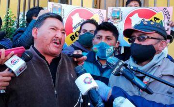 El Alto: Choferes, gremiales y microempresas  exigen promulgar ley de diferimiento de crédito