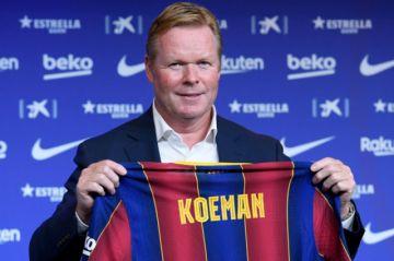 En Argentina culpan al entrenador Koeman por el portazo de Messi al Barza