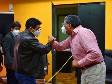 Tras reunión en La Paz, se garantiza seguir con la obra de hospital de tercer nivel para Potosí