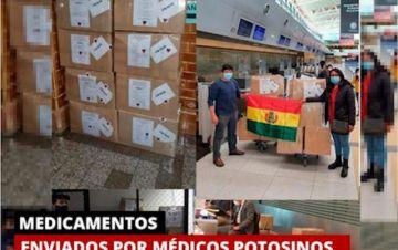 Donación de médicos bolivianos en Argentina ya está en camino a Potosí