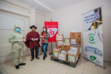 Comunidades de la nación Qhara Qhara recibieron medicamentos de Laboratorios IFA