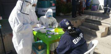 La entidad municipal de aseo Potosí realiza el segundo rastrillaje al personal