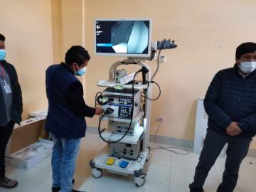 Entregan equipamiento a hospitales San Roque, Madre Teresa de Calcuta y San Cristóbal