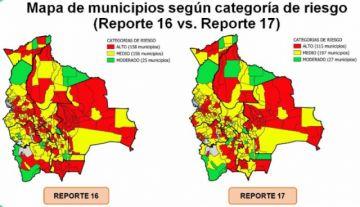 Tacobamba y Ckochas son catalogados entre los 10 municipios de más alto riesgo en Bolivia