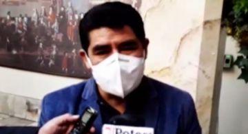 Gobernador mantiene pedido de aprobar recursos para producir dióxido de cloro
