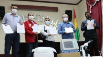 Según documentación, respiradores chinos costaron $us 12.963 pero gobierno pagó $us 35.000