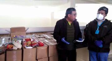 Entregan 10 toneladas de alimentos a estudiantes con discapacidad en Potosí