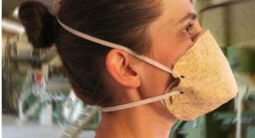 Empresa francesa crea máscara contra el  coronavirus hecha de cáñamo