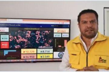 La Paz: Revilla anuncia juicio contra sujeto que amenazó con quemar vivo a brigadista en el megarrastrillaje