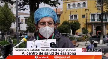 Comisión de Salud de San Cristóbal pide insumos y equipamiento