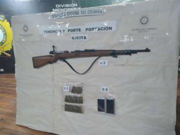 Gobierno afirma que investiga procedencia de armas exhibidas durante los bloqueos