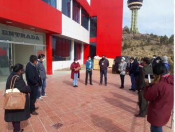 Concejales visitaron el Centro COVID municipal