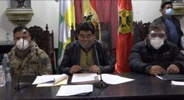 Lea el Decreto de ampliación de la cuarentena condicionada y dinámica en el Departamento de Potosí