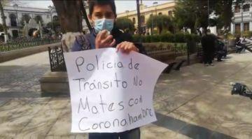 Ciudadano se queja por infracción de 2.000 Bolivianos